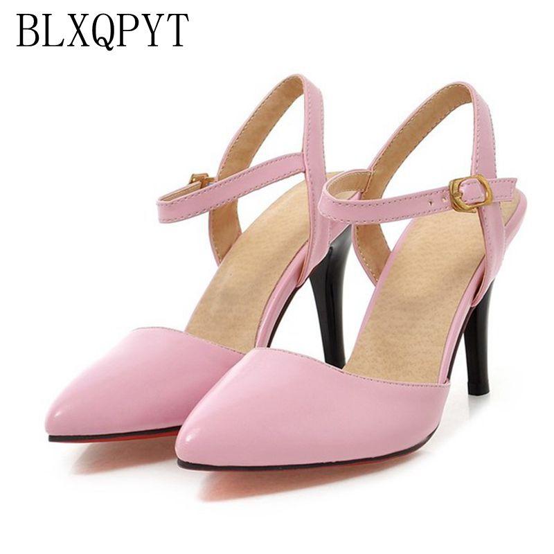 Женские туфли-лодочки на высоком каблуке BLXQPYT, летняя обувь большого размера 31-47, 1391