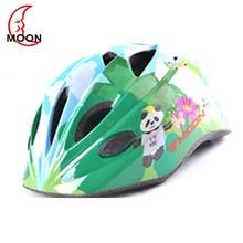 Moon children riding bicycle helmet children roller skating helmet protective equipment