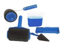 6 stücke farbe werkzeug roller griff Kreative werkzeug set haushalt Trommel typ multi-funktion pinsel roller set