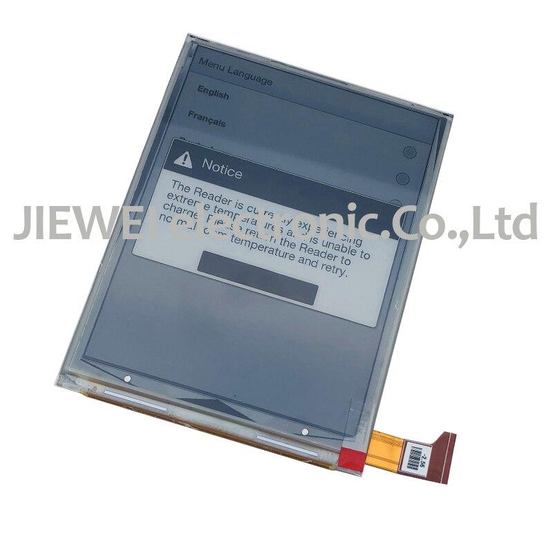 "Frete grátis 6 ""polegada display lcd tela Para Digma r660 sem Backlight Tela Lcd E-book Reader Ebook"