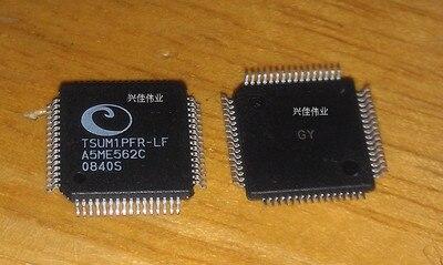 1PCS/LOT TSUM1PFR-LF  TSUM1PFR LQFP-64 LCD driver chip In Stock
