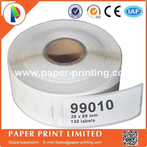 6 x Rolls Dymo Kompatible Etiketten 99010 dymo99010 28mm x 89mm, adresse aufkleber label