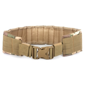 Adjustable Tactical Loading Waist Belt Outdoor Hunting Waist Support Padded for Waist Circumference 70-110cm