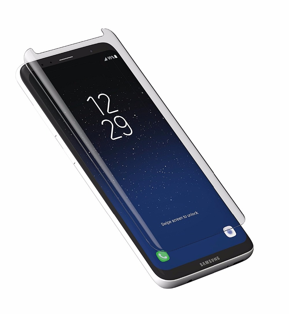 Защитный чехол с 3D покрытием из закаленного стекла для Galaxy S8 S9 Plus, Защитная пленка для Samsung Galaxy Note8 S9 Plus