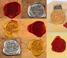 Wax Seal Copper head Twilight/Greetings DIY Scrapbooking Vintage wax sealing stamp wedding/party invitation/envelop gift seal