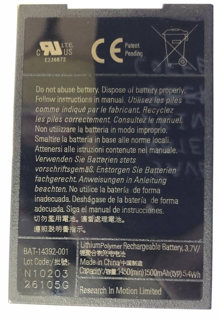 MS1 M-S1 Battery For Blackberry Bold 9000,9030,9630,9700,9780 Mobile Phone
