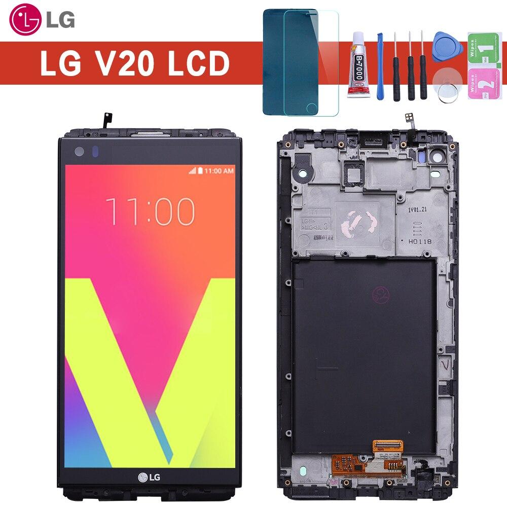 Garantie 5.7 2560x1440 IPS LCD pour LG V20 LCD écran tactile VS995 VS996 LS997 H910 numériseur remplacement