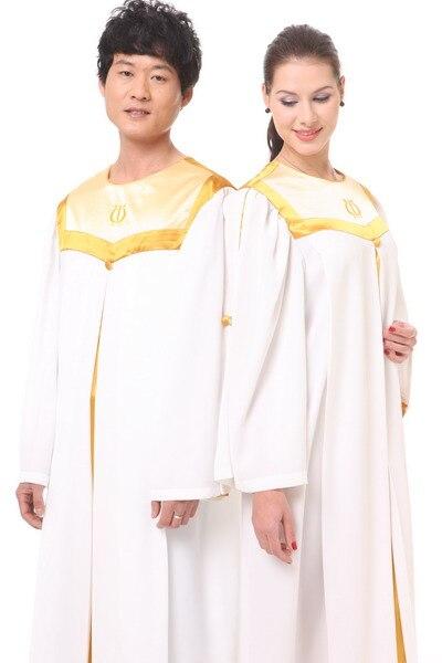 Ropa religiosa, traje de coro de iglesia, vestido cristiano, Túnica de alta calidad, Europa y EUA versión del disfraz de Biblia, prenda de Iglesia