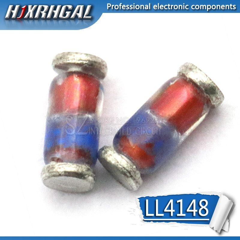 10 pièces LL4148 LL-34 1N4148 IN4148 De commutation à grande vitesse diodes