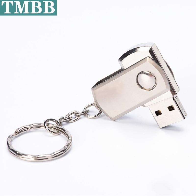 BiNFUL Usb флеш-накопитель 4G 8 ГБ 32 ГБ 64 ГБ, металлический мини-диск U, прямоугольный USB 2,0 USB флеш-накопитель, карта памяти U-диск