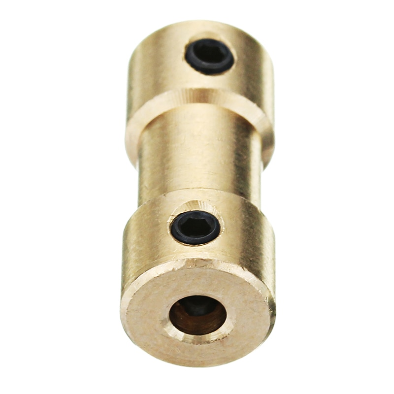 DANIU 1pc 3.17mm Brass Coupler Spindle Motor Shaft Coupling Connector For EleksMill Engraver CNC Router