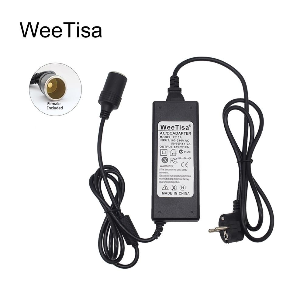 Адаптер питания для автомобильного прикуривателя, переменный ток 110 В 220 В в постоянный ток 12 В 5A 6A 10A, светодиодный конвертер драйвера, транс...