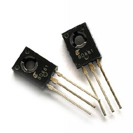 200 unids/lote BD681-126 100 V/4A/40 W NPN Darlington transistores de potencia