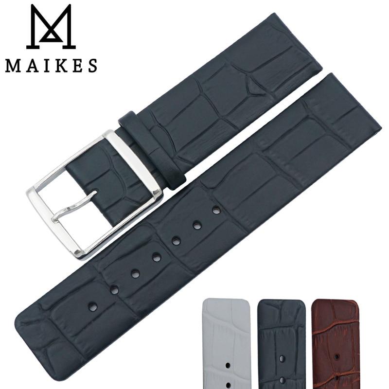MAIKES-correa de Reloj de piel auténtica, correa de reloj de alta calidad,...