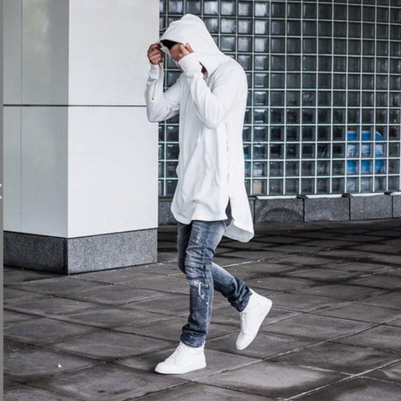 Мужские худи с длинным рукавом и карманами-кенгуру на молнии, уличная одежда в стиле хип-хоп, мужские худи, осень 2019
