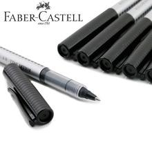 Faber Castell 10pcs/Box Gel Pens 0.5mm Blue Ink or Black Ink for Students School Stationary