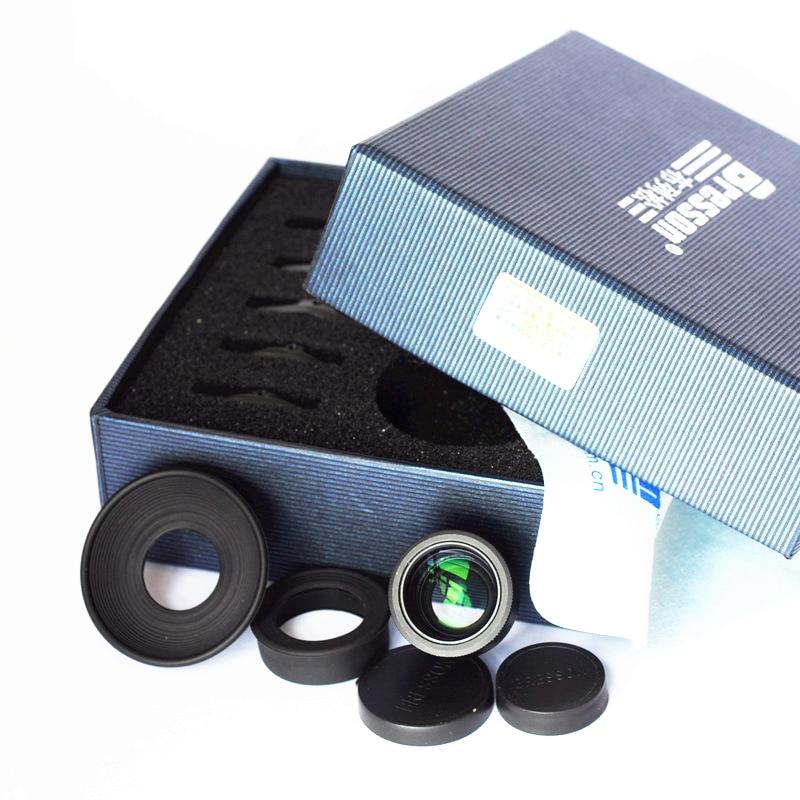 1.1-1.6X عدسة الكاميرا المكبر قابل للتعديل الديوبتر لسوني A7 A7S A7R مارك الثاني ILCE-7M2 ILCE-7RM2 ILCE-7SM2