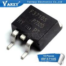 10 pièces IRF3710S À-263 F3710S 3710S TO263 IRF3710 MOSFET N-CH 100V 57A D2PAK IRF3710STRLPBF