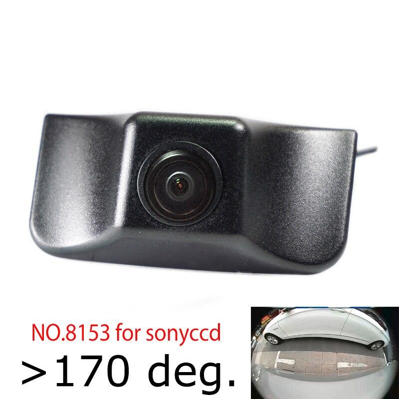 180deg рыбий глаз ccd hd ночное видение автомобиля вид спереди Логотип камера для Jeep cherokee ограниченная передняя решетка камеры