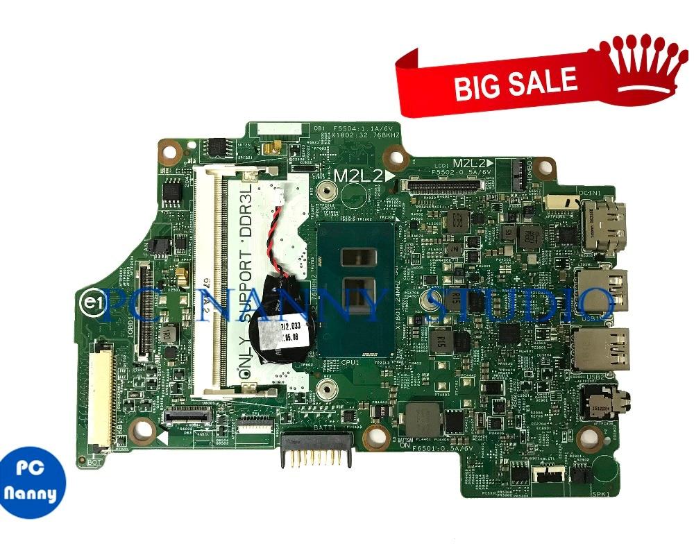 PC مربية 09GH9H 9GH9H لديل انسبايرون 7359 اللوحة المحمول i5-6200U 14275-1 DDR3L اختبار