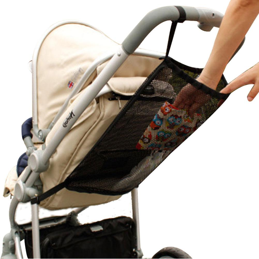 1 шт., новинка 2019 года, органайзер для детской коляски, корзина на колесиках, сетка для хранения подвесная сумка, карман для сиденья, аксессуары для прогулочной коляски