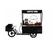 Heißer Verkauf mobile Edelstahl kommerziellen kaffee karren lebensmittel bike