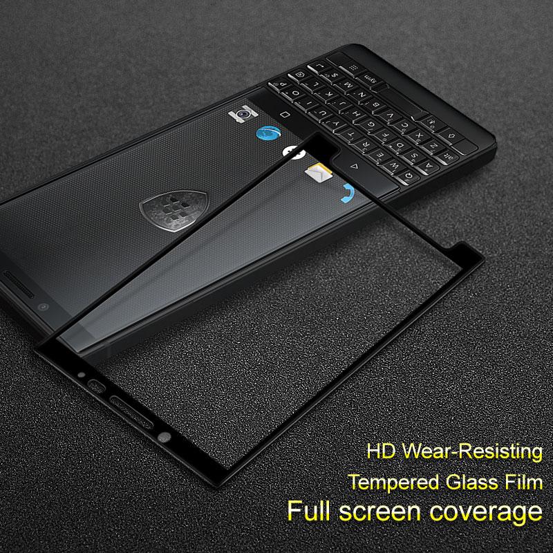 Pour Blackberry Key2 clé 2 verre Keytwo clé deux verre trempé film Imak couverture complète protecteur décran protection plein écran