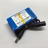masterfire 50setlot portable dc 168 dc 12v 1800mah rechargeable li ion battery for cctv camera wireless camera baby monitor