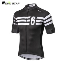 Weimostar maillot de cyclisme 2019 hommes course Sport vtt vélo maillot chemise respirant cyclisme vêtements montagne vêtements de vélo vêtements