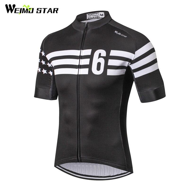 Weimostar, Jersey de ciclismo 2019 para hombre, camiseta de Ciclismo de carreras deporte mtb, ropa de ciclismo transpirable, ropa de bicicleta de montaña, ropa