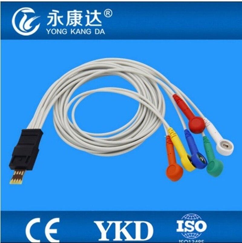 شيلر MT-101 MT-200 هولتر إسغ كابل مع 6-يؤدي إيك المفاجئة