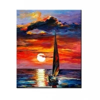 100 hand painted oil painting high quality canvas painting household adornment art scenery pictures painting