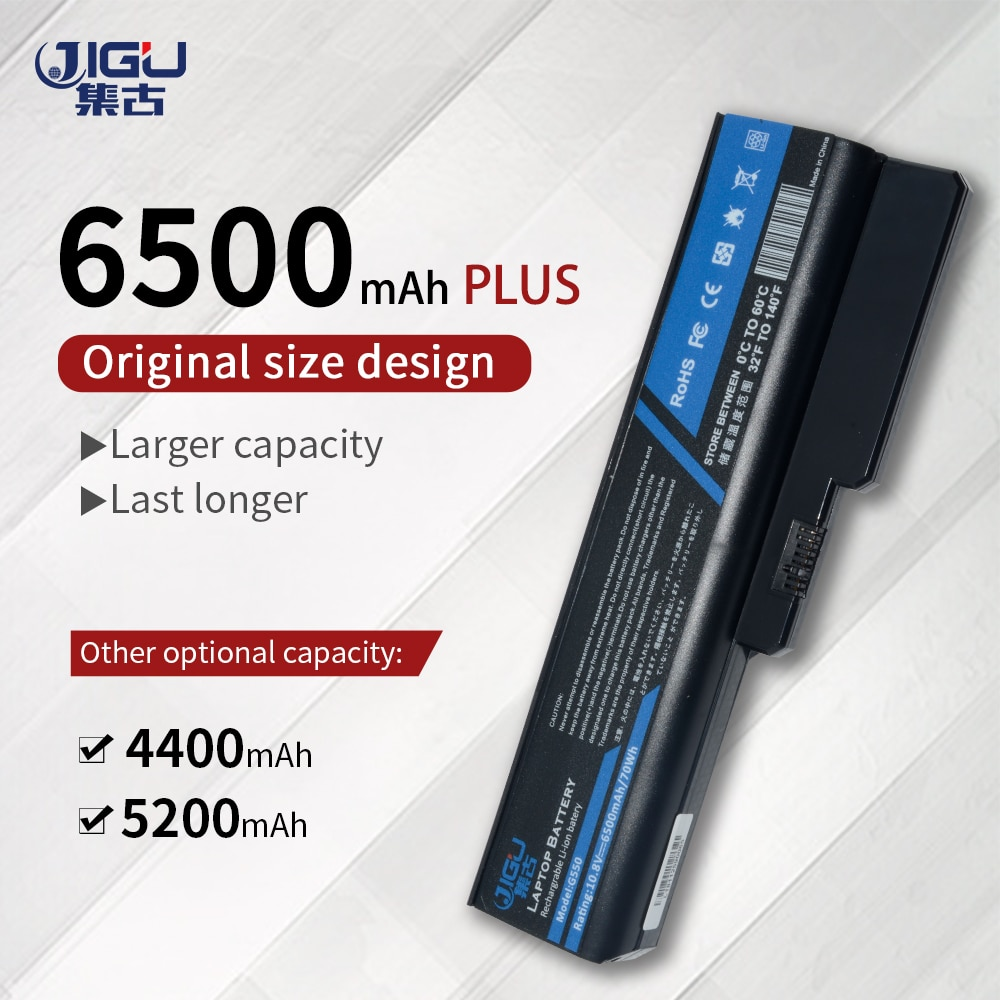 Bateria Para IBM Lenovo 3000 B550 JIGU B460 N500 G430 G450 G530 G550 G555 G455 6 Células