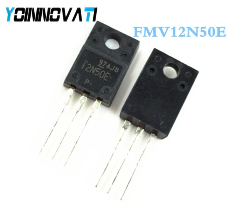50 unids/lote FMV12N50E FMV12N50 FMV 12N50E 12N50 TO-220F