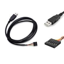 TTL-232R-3V3 USB naar TTL Seriële Kabel Adapter FTDI Chipset FT232 USB naar 3.3 v 5 v TTL UART Seriële RS232 downloaden Kabel