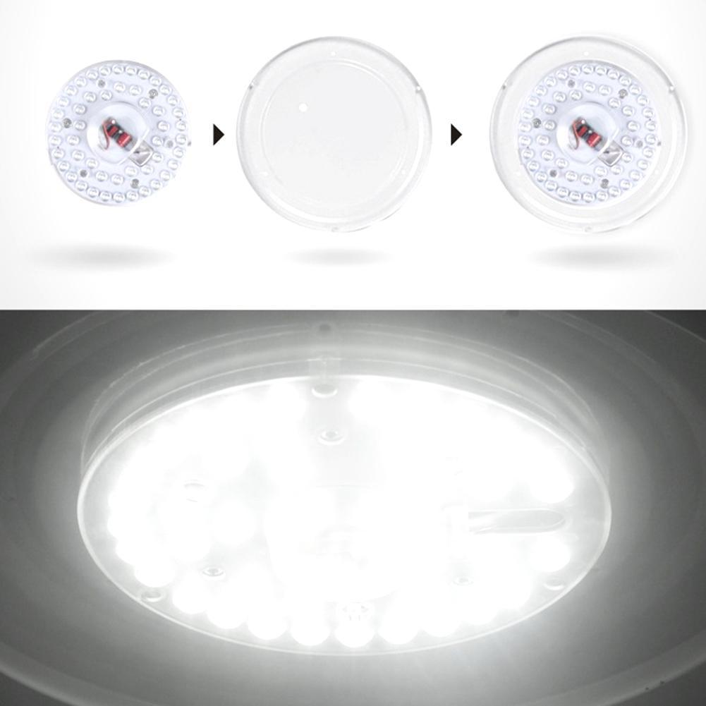 Aluminum 220V LED Ceiling Light Retrofit Lamp Board 12W 18W Round Ceiling Lights SMD5730 Ceiling Lamp Module Light Source