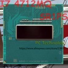 Оригинальный процессор Intel Core I7 4712MQ SR1PS, процессор для I7-4712MQ 2,30 ГГц-3,3 ГГц L3 = 6 м, четырехъядерный процессор, Бесплатная Доставка в течение 1 дня