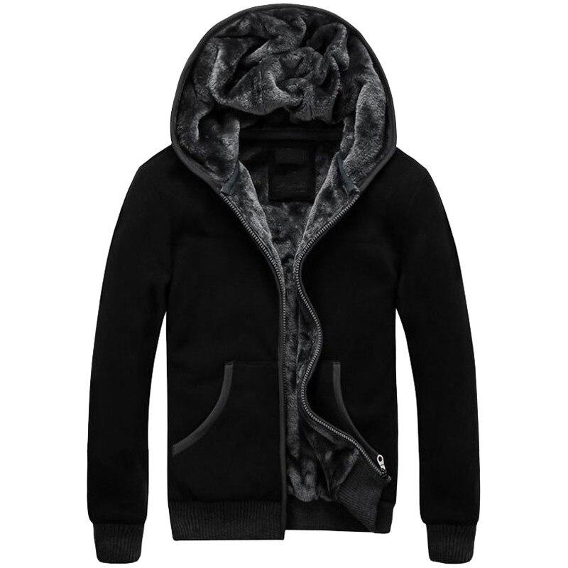 Envío gratis de talla grande, sudaderas con forro de lana para hombre 4XL 5XL 6XL, Sudadera con capucha de terciopelo térmico para invierno, abrigo militar grande, gran oferta