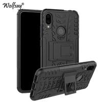 redmi note 7 case cover for xiaomi redmi note 7 shockproof rubber plastic heavy armor phone case for xiaomi redmi note 7 cover