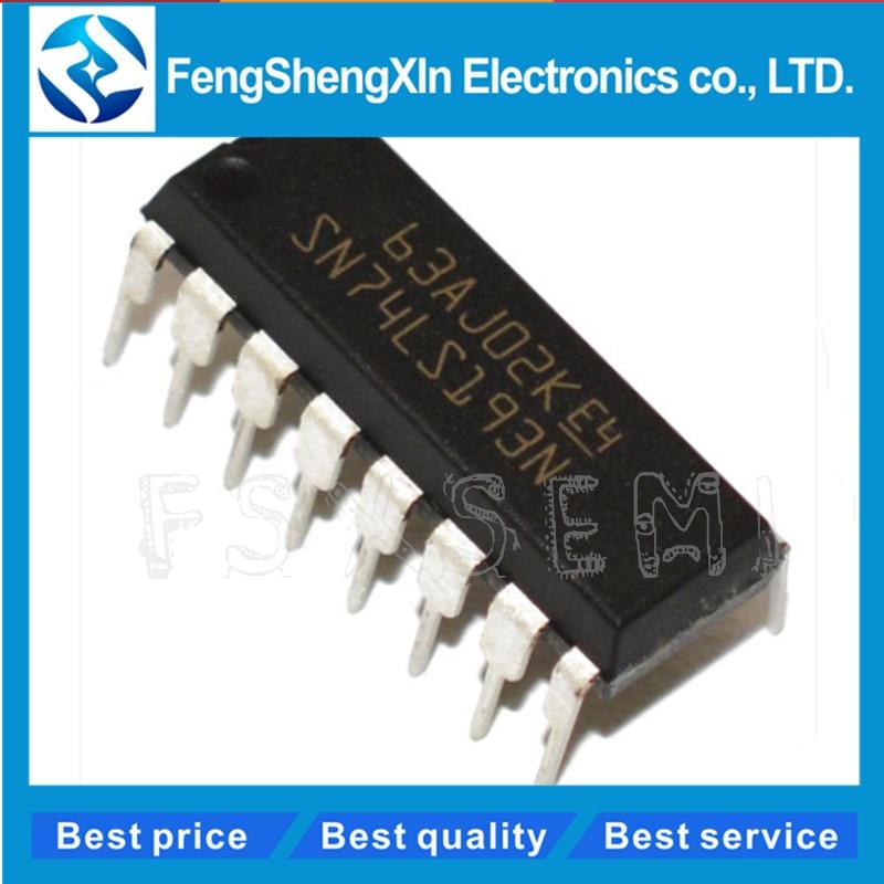 100pcs/lot HD74LS193P 74LS193 SN74LS193N DIP-16 Counter chip