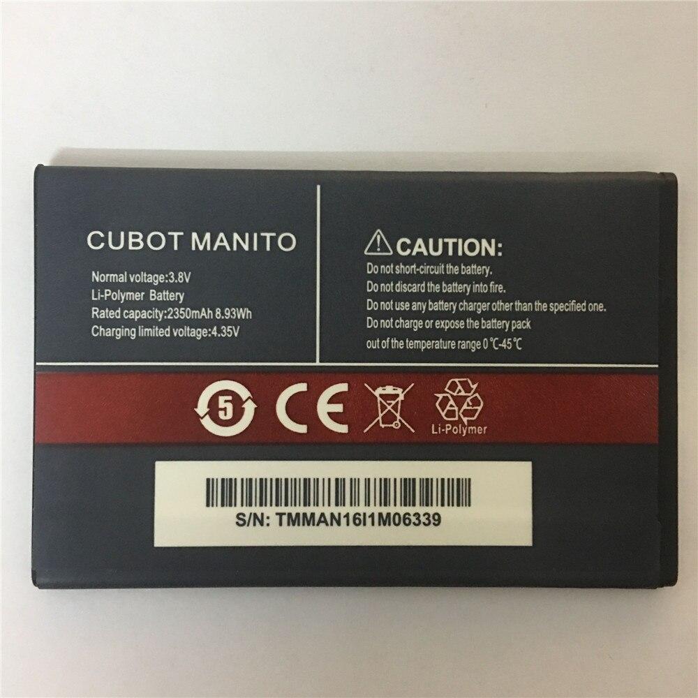 Para cubot manito bateria batterie bateria batterij acumulador 3.8 v 2350 mah