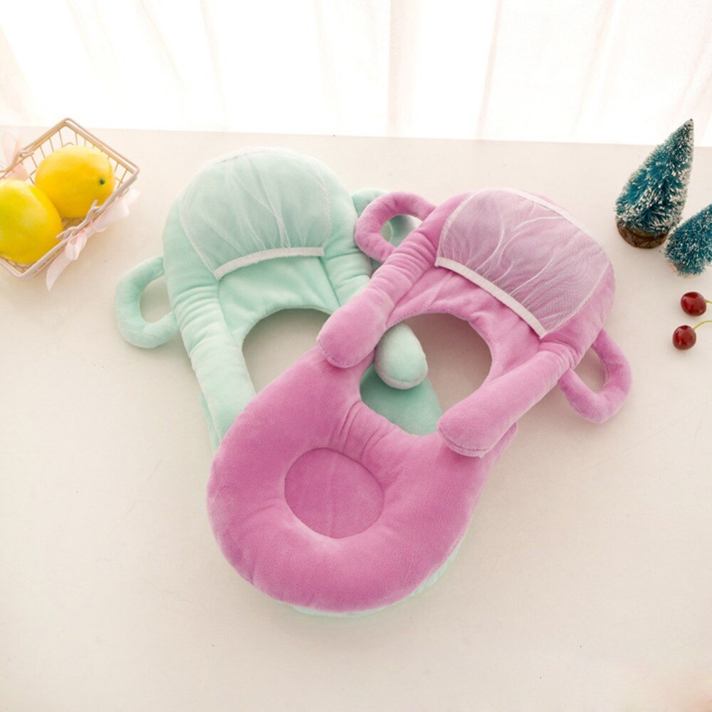 Almohadas de lactancia para bebés multifunción, funda lavable en capas, cojín modelo ajustable, almohada de alimentación para bebés O0