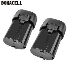 Batería recargable Bonacell Li-ion BL7010 7,2 V 2000 mAh-2500 mAh para Makita 194355-4 194356 -2 TD020DS L10