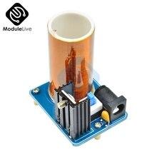 BD243 BD243C puce Mini Tesla bobine Kit accessoires magiques bricolage pièces lumières vides technologie électronique Module conseil Kits de bricolage