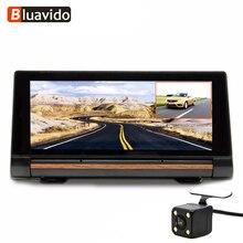 Bluavido 7 Inch 3G Android Car DVR Camera GPS Navigation FHD 1080P Dual Lens automotive Video Recorder WiFi monitor  Bluetooth