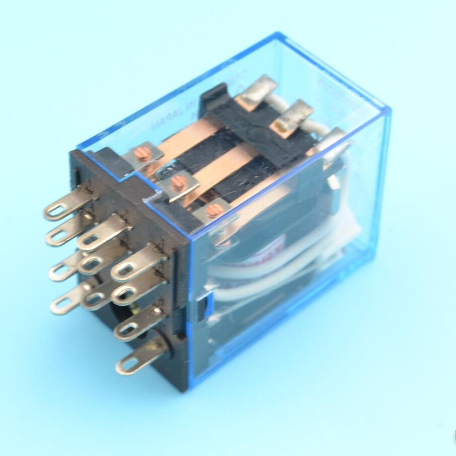 11 pinos my3 relé de uso geral my3n 12v 24v 110v 220v interruptor de relé my3nj