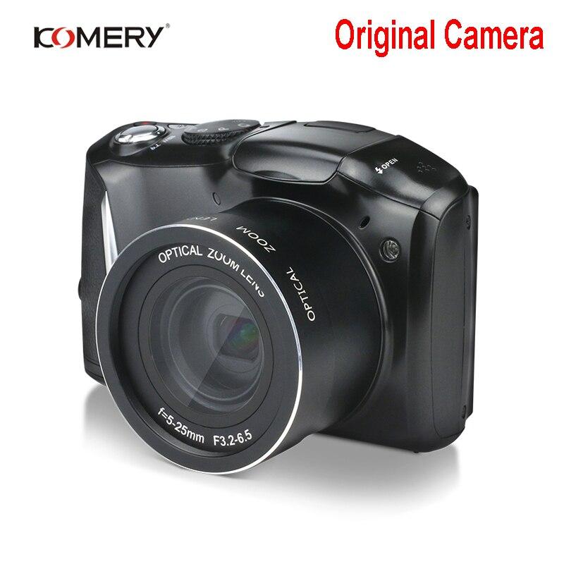KOMERY HD Digital Camera 3.5 inch IPS LCD 24MP 4X Digital Zoom Digital Camcorder Factory Outlet Three-year warranty