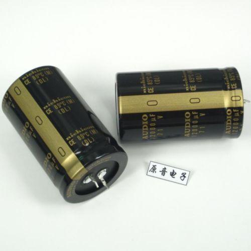 Nuevo 1 Uds nichicon Japón para condensador de AUDIO 12000uF 71V