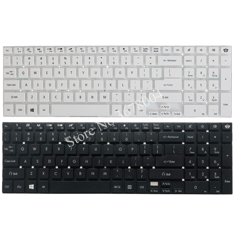 NEW English Keyboard for Gateway NV52L NV56R NV75S NV55 NV55S NV57H NV56 NV57 NV77 NV77H US Keyboard