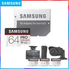 SAMSUNG PRO Endurance microCard 128GB 64GB 32GB Clase 10 tarjeta microSDHC/SDXC velocidad de lectura hasta 100 MBS para videovigilancia